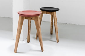 Krukjes van We Do Wood in Zwart en Rood