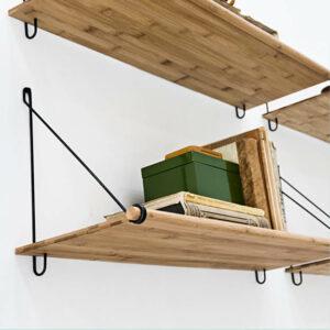 We Do Wood Loop Shelf Bamboe byJensen