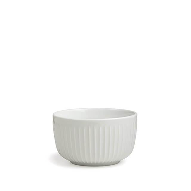 Wit ontbijt schaal van Kahler keramiek