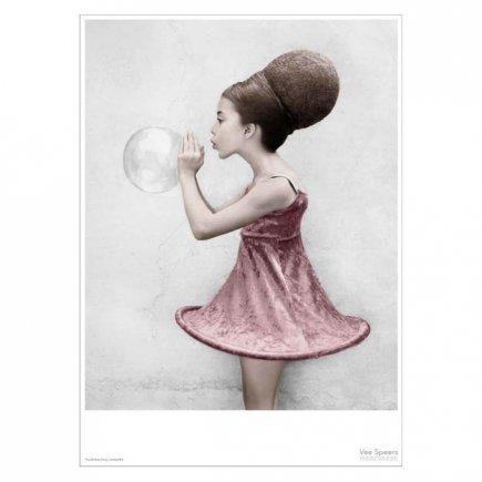 The Birthday Party Meisje #16 Vee Speers poster 50x70 cm van VisseVasse byJensen