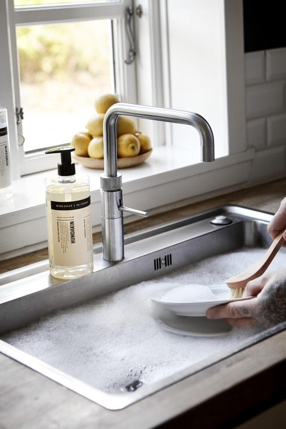 Humdakin afwasmiddel in mooie pompfles voor de keuken