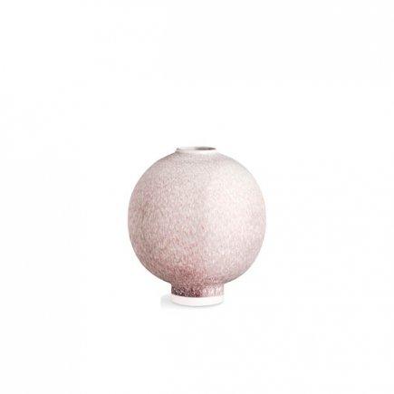 Roze Unico Vaas van Keramiek en rood glazuur van Kähler