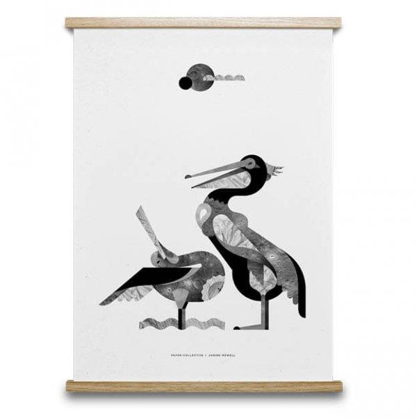Early Birds Poster van Paper Collective