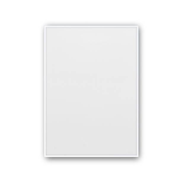 Witte posterlijst 30x40 aluminium van Paper Collective