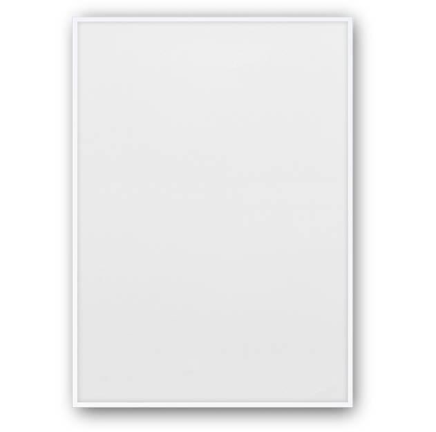Witte posterlijst 50 x 70 cm aluminium van Paper Collective