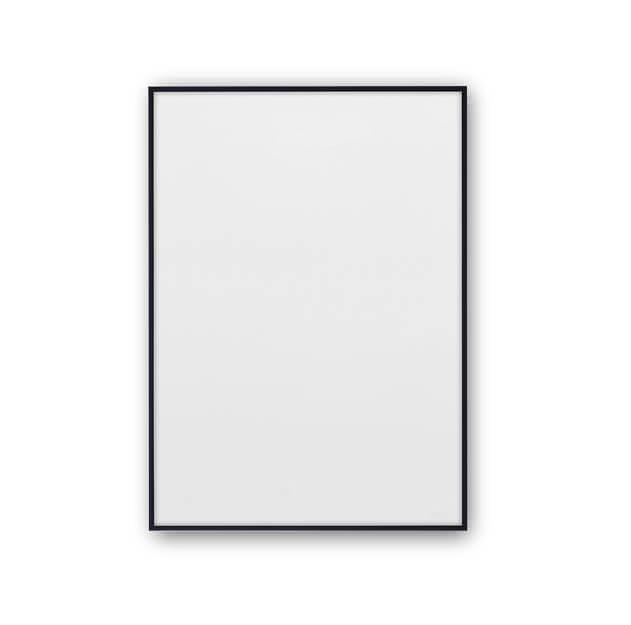 Zwarte posterlijst 30x40 aluminium van Paper Collective