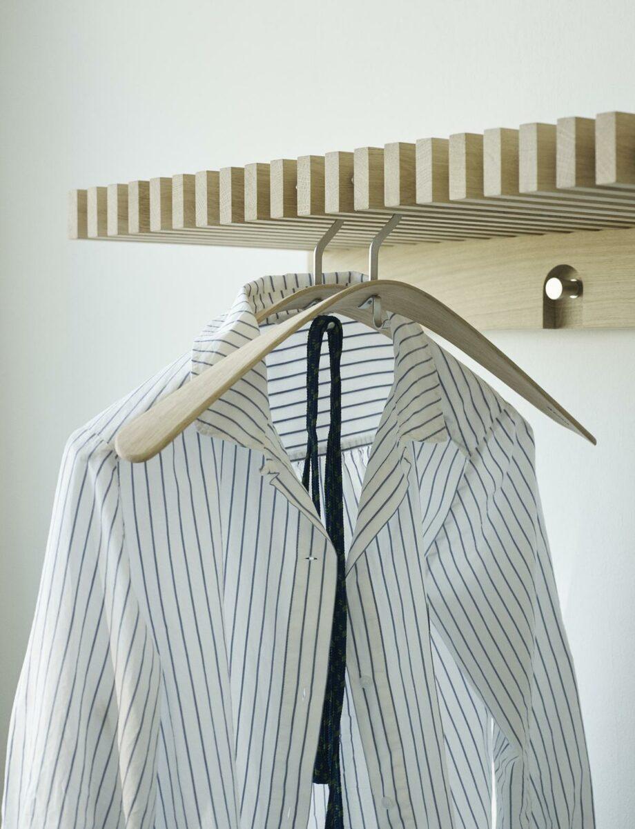 Skagerak piolet kledinghangers eikenhout