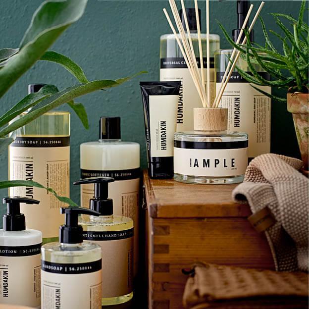 Humdakin collectie handlotion, handzeep, zeep, afwasmiddel, allesreiniger, wasmiddel, wasverwachter byJensen