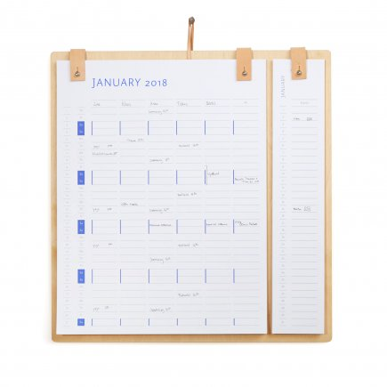 Planner Board Kalender 2018 2019 by Wirth byJensen