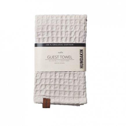 Gewafelde handdoek light stone van Humdakin byJensen