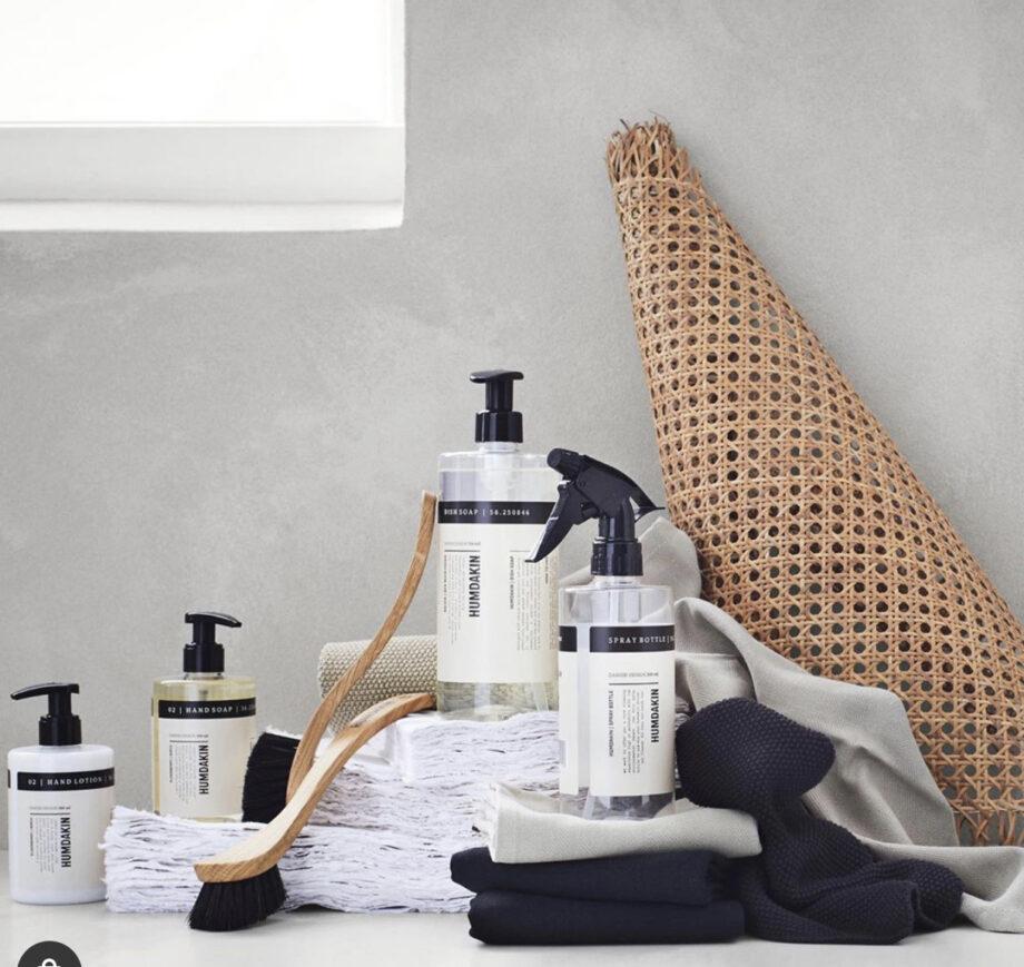 Humdakin sprayfles schoonmaakmiddel, zeep en handlotion pompfles Stijlvol scandinavisch design