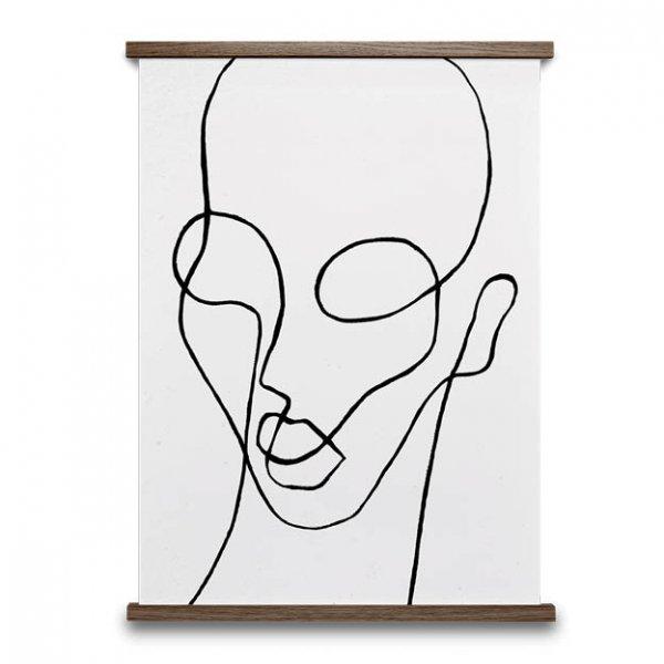 Shaperalito poster zwart en wit van paper collective3
