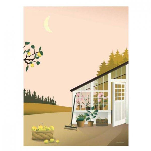 Garden life poster van Vissevasse