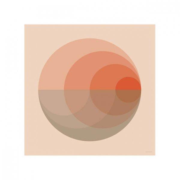 Grafische poster vierkant van Vissevasse 3