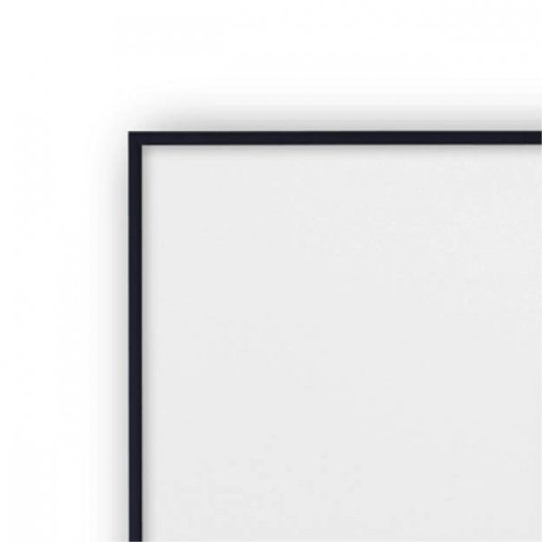 Zwarte wissellijst 40 x 40 cm Vissevasse