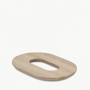 Loop trivet ovale onderzetter van Skagerak byJensen