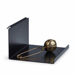 wandplank Flex Shelf plank zwart