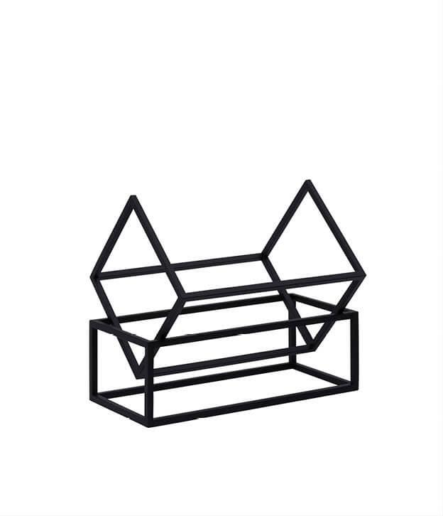 Book Keeper boekenrekje zwart metaal Kristina Dam Studio byJensen