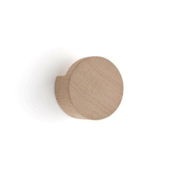 by Wirth Wood Knot large wandknop medium light eikenhout byjensen