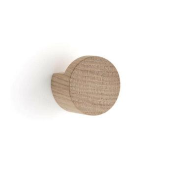 by Wirth Wood Knot wandknop medium light eikenhout byjensen