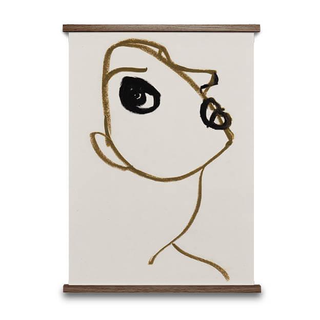 Silhouette 2 poster amelie hegardt van Paper Collective byJensen Design Poster