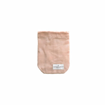 All Purpose bag stone rose small katoenen bewaarzak van the organic company byjensen