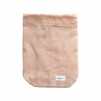 All Purpose bag stone rose katoenen bewaarzak van the organic company byjensen
