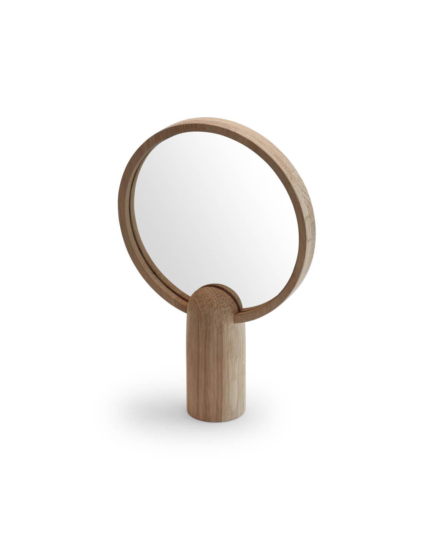 Skagerak Tafelspiegel Aino Mirror spiegel skagerak denmark eikenhouten handspiegel