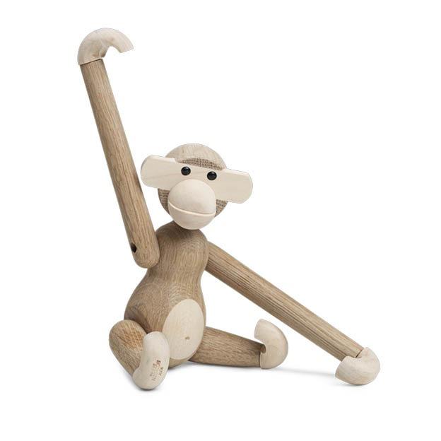 Kay Bojesen houten aap monkey small eikenhout