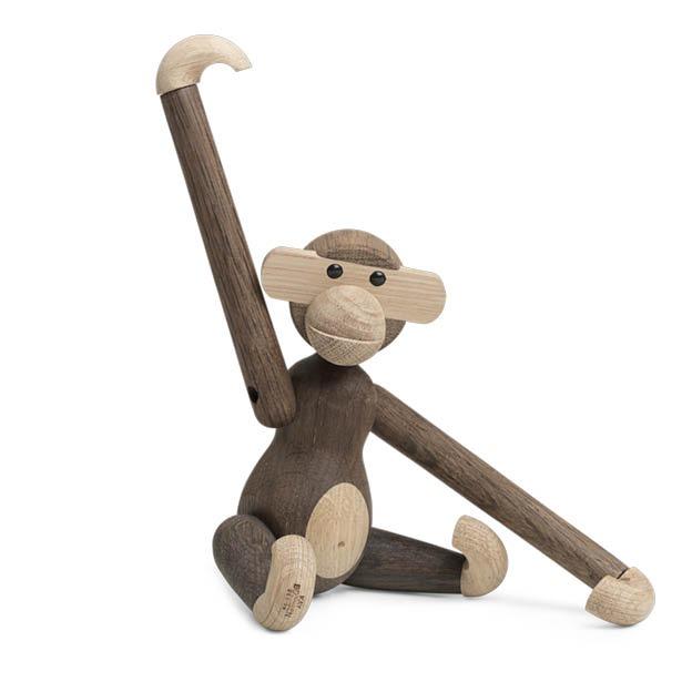 Kay Bojesen Monkey houten aap gerookt eikenhout