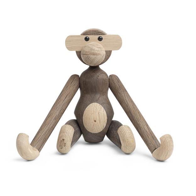Kay Bojesen houten aap monkey gerookt eikenhout
