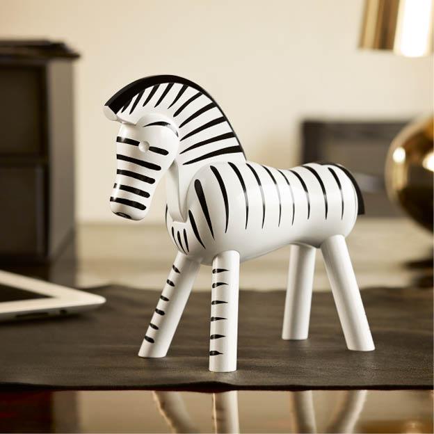 Kay bojesen zebra zwart wit byJensen