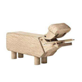 Kay Bojesen Hippo houten Nijlpaard
