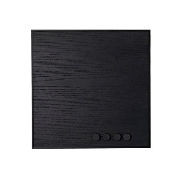 By Lassen memobord remind magneetbord zwart