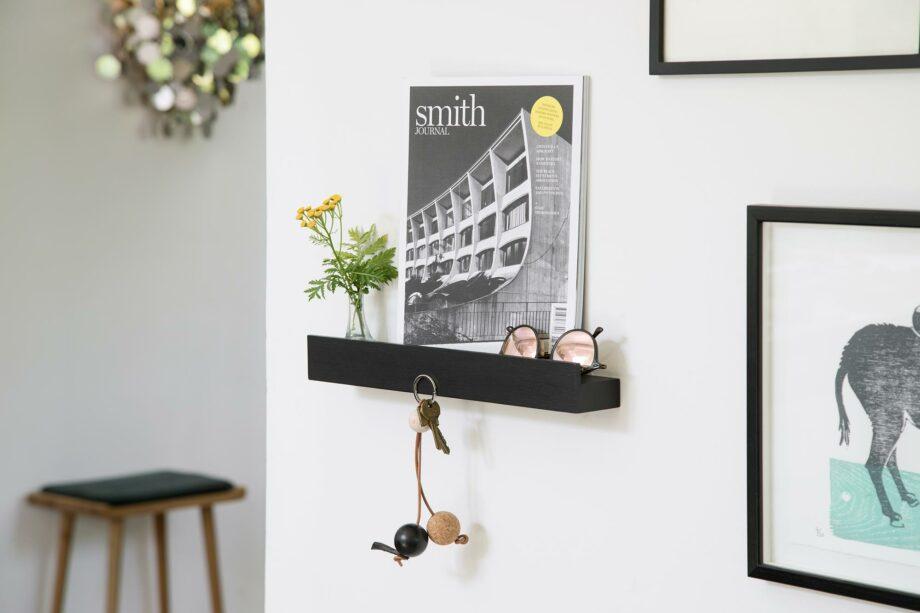 by Wirth magnet shelf zwart messenmagneet