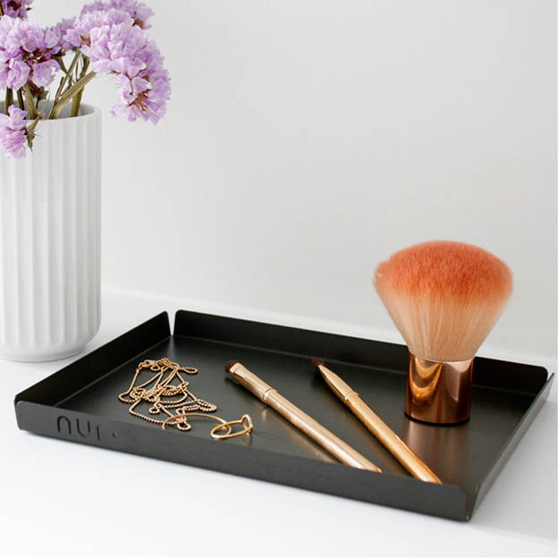 Zwarte Nur tray voor decoratie