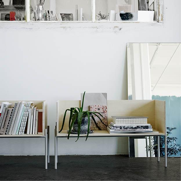 Vivlio opbergsysteem woonkamer