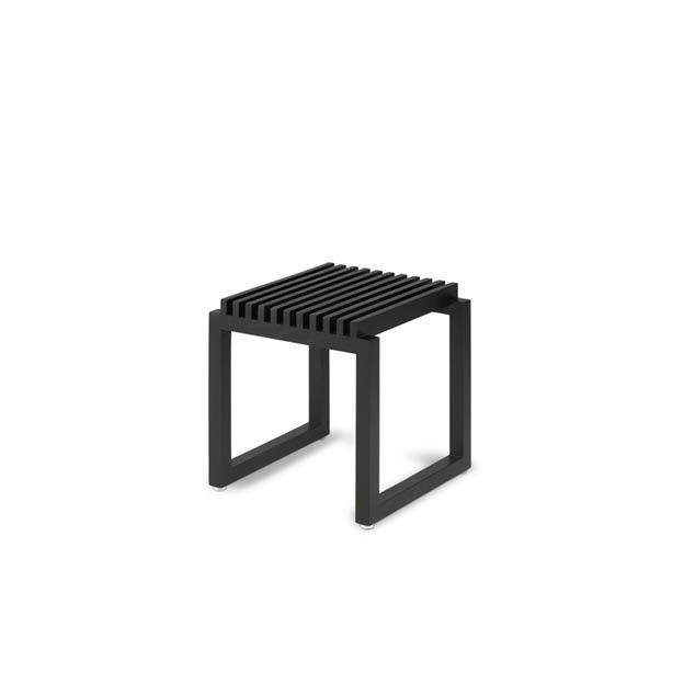 Cutter kruk stool zwart Skagerak Denmark