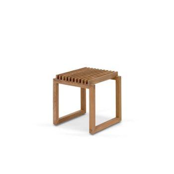 Cutter kruk stool teakhout Skagerak Denmark