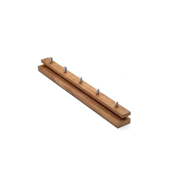 Skagerak Cutter coat rack kapstok small teak