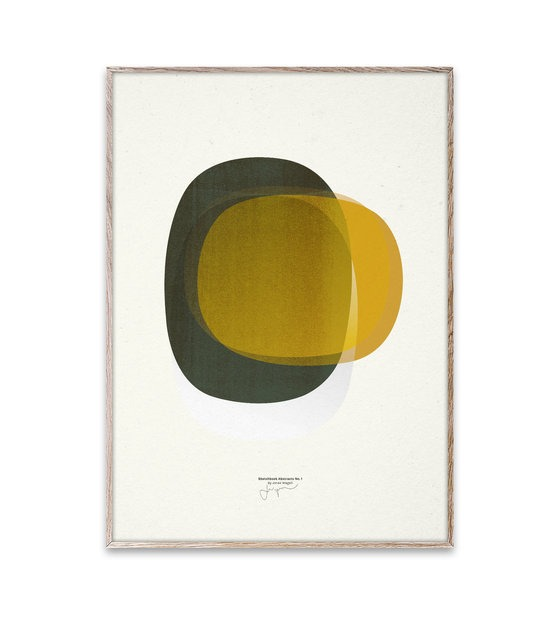 Jonas Wagell Sketchbook Abstract 01 poster Paper Collective