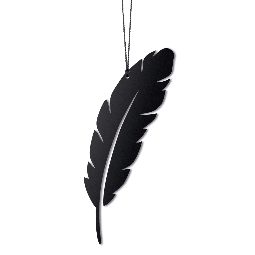 Felius veer paasdecoratie hangers zwart