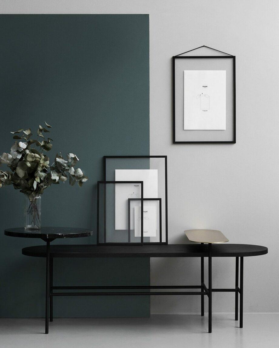 Moebe Frame transparante lijst A5 A4 A3 A2 zwart