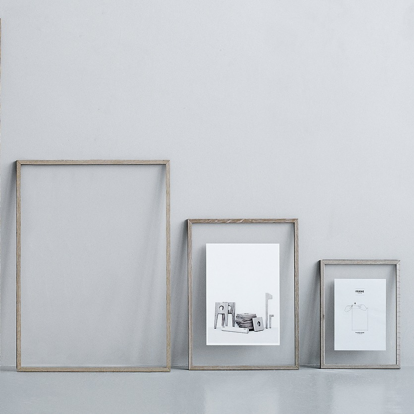 Moebe frame A2 A3 A4 eikenhouten wissellijst