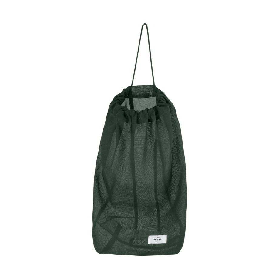 Food bag L groen herbruikbare katoenen zak organic company