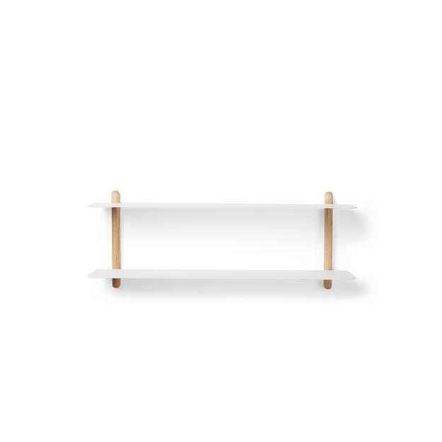 NIVO F wandrek wit eikenhout gejst Design