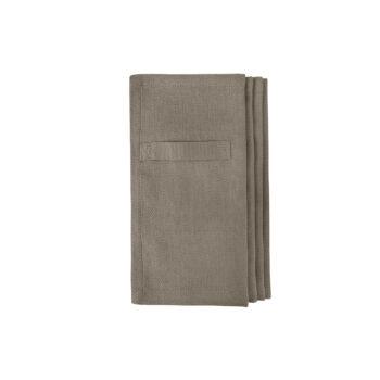 The Organic Company Everyday napkin servetten clay