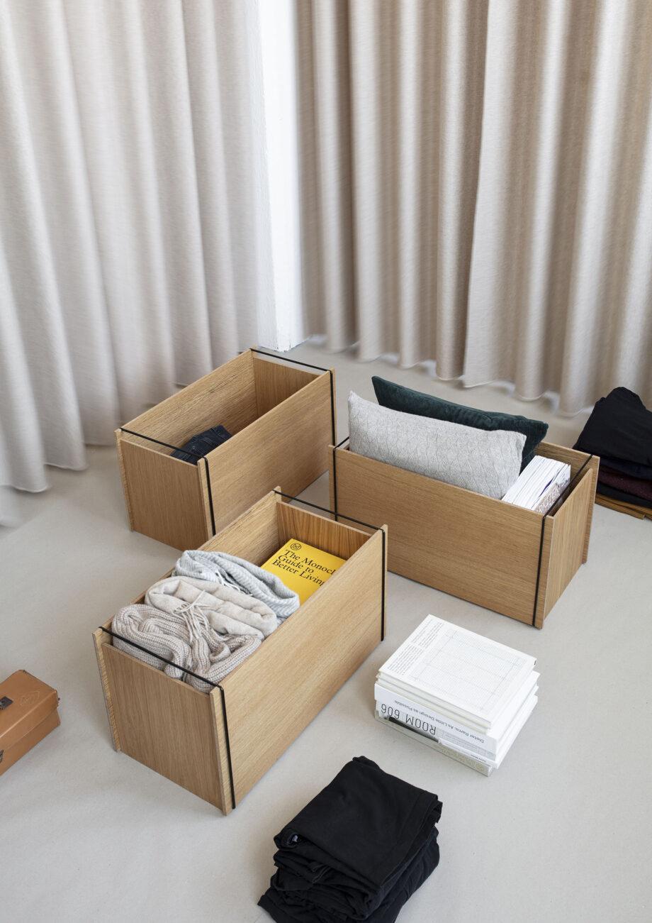 Ruime opbergboxen Moebe design storage box