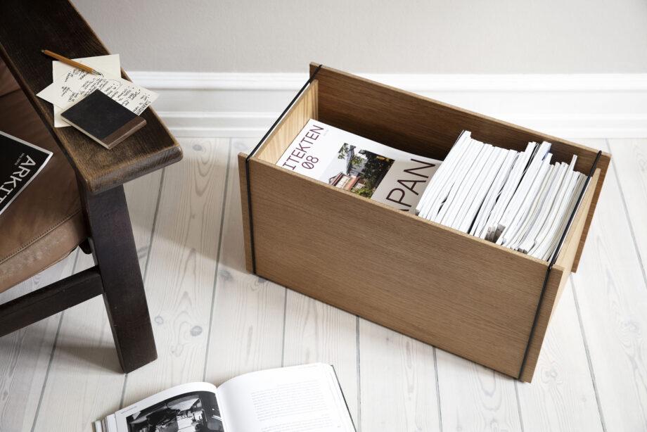 Moebe Storage box opbergbox voor tijdschriften
