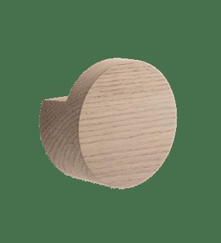 by Wirth wandhaak wood knot knop naturel eikenhout groot